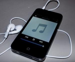Удаление музыки с iPhone