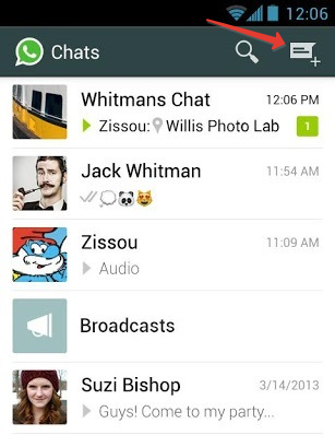 whatsapp android