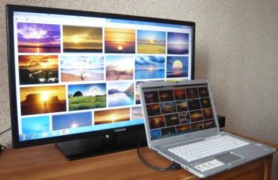 Ноутбук к TV