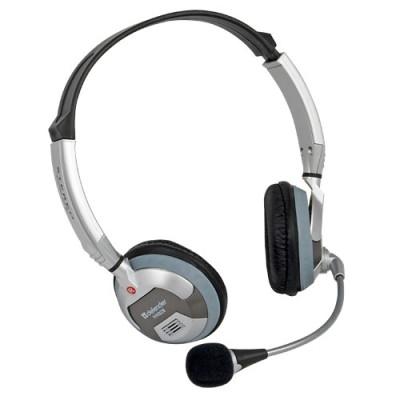 Наушники с микрофоном для видеозвонка