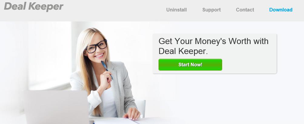 Deal Keeper сайт