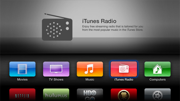 iTunes на Apple TV
