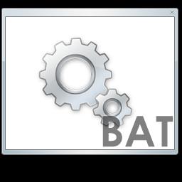 создать bat file