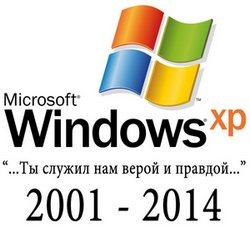 Прекращение поддержки Windows XP