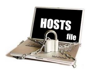 восстановить файл hosts windows 7