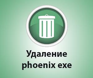 phoenix exe как удалить