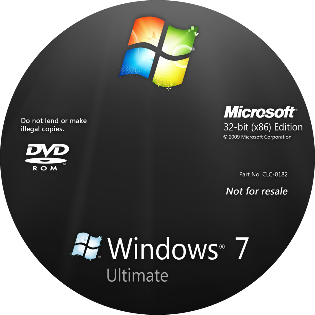 Диск Windows 7