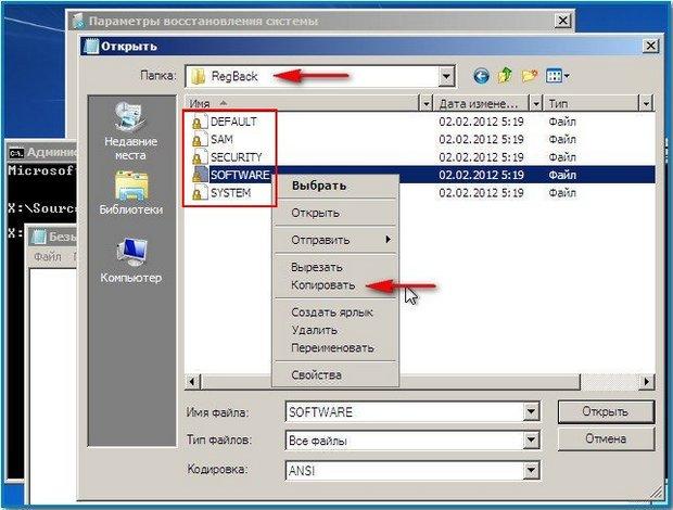 Копировать файлы