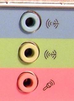 Порты звуковой карты