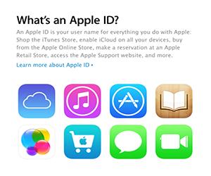 восстановить Apple ID