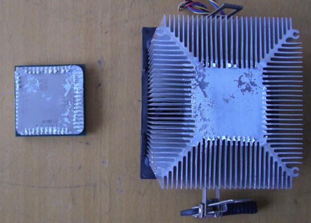 Кулер и процессор