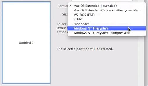 NTFS на Mac