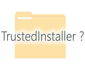 Разрешение от Trustedinstaller
