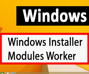 Windows Modules Installer Worker грузит