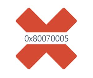 0x80070005 Отказано в доступе